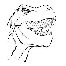 Leuk Voor Kids Kleurplaat T Rex Boekleggers Dinosaurussen
