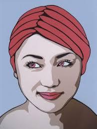 pop art portrait print by shauno on etsy