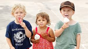 Image result for people eating ice cream