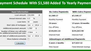 Extra Principal Home Mortgage Calculator My Mortgage Home Loan