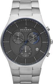 men s skagen balder chronograph titanium watch skw6077