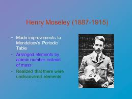 The Periodic Table of Elements Dmitri Mendeleev ( ) Russian ...