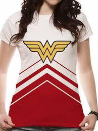 <b>Wonder</b> Woman <b>Cheer Leader</b> Sublimated Official Ladies DC ...