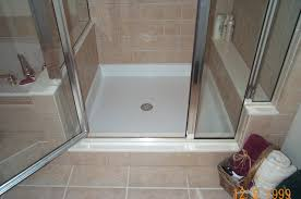 brilliant modern walk in shower without doors added white gloss marble shower for bathroom tiles