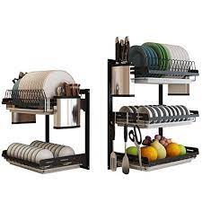 crazynuts stainless steel kitchen rack