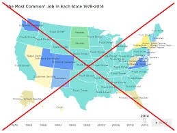 Most Common Job What Are The Most Common Occupations In Each Us State Sas