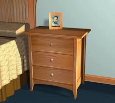shaker style furniture. Shaker Style Night Stand Plans Furniture E