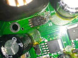 stereo circuit board partially burned all about circuits car stereo circuit board repair at Car Stereo Circuit Board