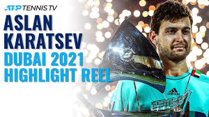 Jannik Sinner vs Roberto Bautista Agut: Brilliant Shots & Rallies | Dubai  2021 Highlights - YouTube