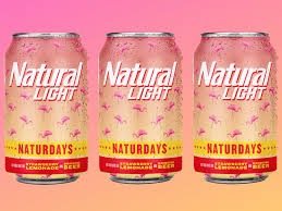 Natural Light Naturdays Natty Light Just Launched A Strawberry Lemonade Beer