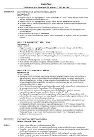 Government Resume Sample Director Government Relations Resume Samples Velvet Jobs 8
