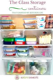 glass storage containers the best glass food storage containers that changed my kitchen life glass storage