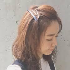 前髪で印象自在ヘアアレンジ初心者さんでもできる簡単前髪アレンジ