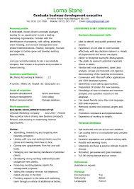 Resume Sample Academic Writing For Graduate Business Development Executive Resume  Format For Postgraduate Students Look Professional ...