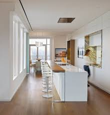 Kitchen Bar White Kitchen Breakfast Bar Yorkville Penthouse Ii In Toronto
