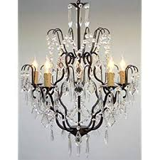 gallery of wrought iron crystal chandelier amazing gallery with black and simpleminimalist appealing 11