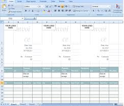 Sales Invoice Template In Excel Format Microsoft Excel