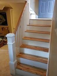 Replacing carpet on stairs with wood Stair Runner Replace Carpeted Stairs With Wood Wild Carpet To Hardwood The Handyman Youtube Decorating Ideas Wooden Furniture Design And Paint Ideas Replace Carpeted Stairs With Wood Implausible How To Makeover Your
