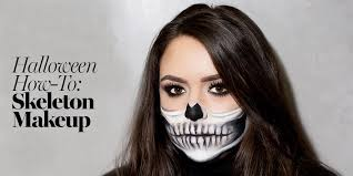 skeleton makeup tutorial 2017 the prettiest skeleton costume how to glamour