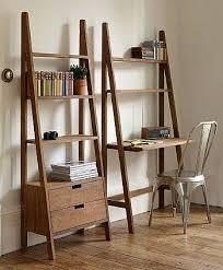 ladder bookcase with desk ladder bookcase with drawers ladder shelf desk uk