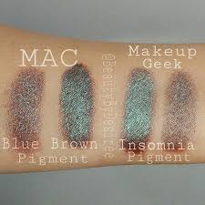 """More <b>MAC</b> """"<b>Blue Brown</b>"""" dupes! Finding all these dupes for this ..."""