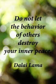 Quotes About Peace Classy Your Inner Peace Quote Picture