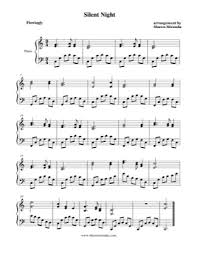 An original german carol, stille nacht (silent night) is one of the most frequently performed christmas songs around the world. Silent Night Christmas Carol Free Piano Sheet Music Pdf