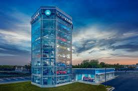 Carvana Houston Vending Machine Fascinating Gigantic Vending Machine For Cars Just Opened In Gaithersburg WTOP