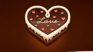 i love chocolate wallpaper.  Wallpaper Love Heart Sweet Chocolate Inside I Wallpaper C