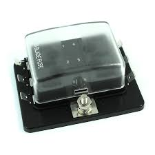 6 position mini atm fuse block with cover atm fuse blocks mini atm fuse block 6