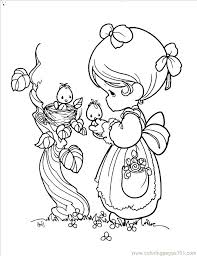 precious moments printable coloring pages monkey page free