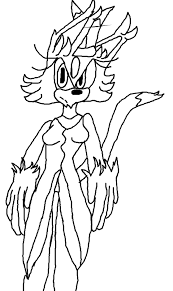 Blaze The Cat Coloring Page By Shadowtails2727 On Deviantart