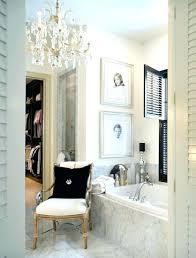 bathroom crystal chandelier master lighting