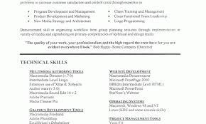 Examples Technical Skills Resume Examples Technical Skills Resume Templates