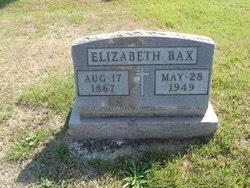 Elizabeth Twehaus Bax (1867-1949) - Find A Grave Memorial