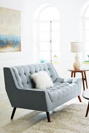 Cece Surf Blue Loveseat