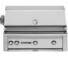 lynx sedona 36 inch built in natural gas grill with one infrared prosear burner and rotisserie l600psr ng bbqguys