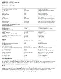 actor resume no experience sample acting resume no experience example actor template format