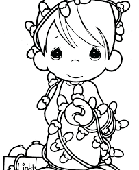 Christmas Disney Coloring Pages Free Disney Princess Christmas