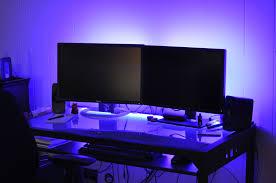 under desk led lighting. My New LED Desk Lights, Set To Blue. Click View Full Size Image Under Led Lighting