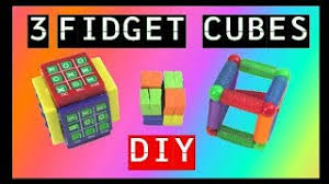 07 18 how to make 3 new diy fidget cubes diy fidget toys fidget toys for