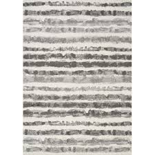 7 x 10 large white and grey striped area rug focus rc willey furniture