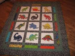 Free+Baby+Bedding+Pattern+dinosaurs | ... at Kariepatch.com for ... & Baby quilt patterns Adamdwight.com