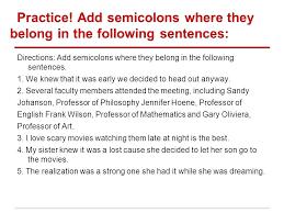 semicolons – donnasdiscountdeals.info