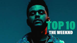 TOP 10 Songs - The Weeknd - YouTube