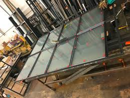 custom warehouse steel and glass warehouse sliding barn doors