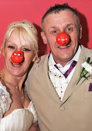 March registry office. Wedding of Teresa May Barnes and Steven William Baxter on Red nose day. Picture: Rob Morris. - 3513582882