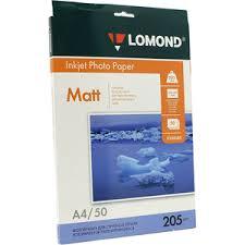 Фотобумага LOMOND 0102085 (A4, 50 листов, 205 г/м2) <b>бумага</b> ...