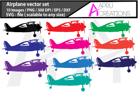 Some airplane svg may be available for free. Airplane Vector Files Graphic By Aparnastjp Creative Fabrica