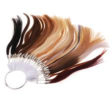 37 Colors Color Rings Swatches For 100 Human Hair